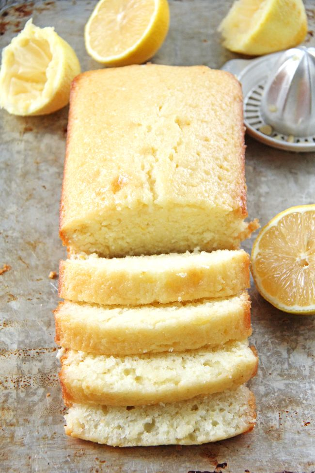 This Easy Lemon Loaf is perfectly tangy and bursting with fresh lemon flavour! – – – – – – – When we first moved to Calgary as newlyweds, we lucked out and met some great neighbours, Jason and Allyson, who quickly became good friends for the short time they lived here.  Over 10 years later …