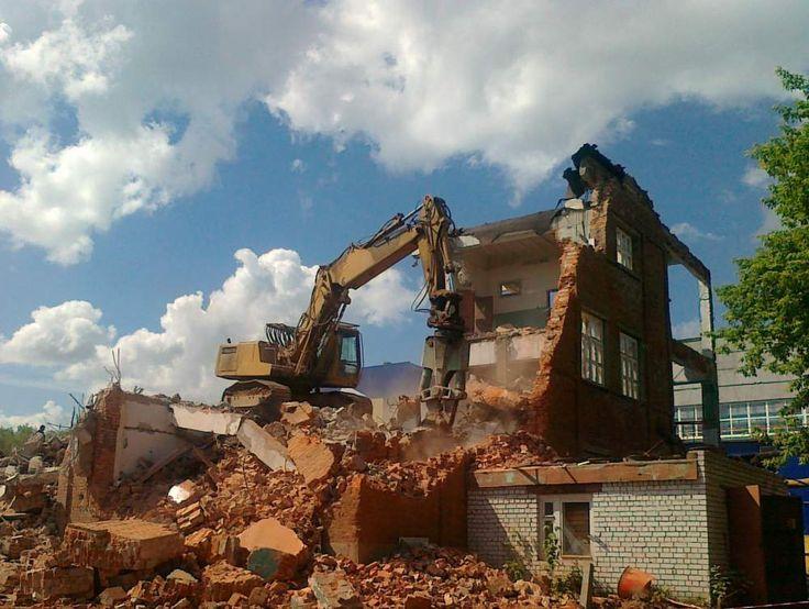 Демонтаж домов и сооружений - ООО ГРУНТ-ЗОНА