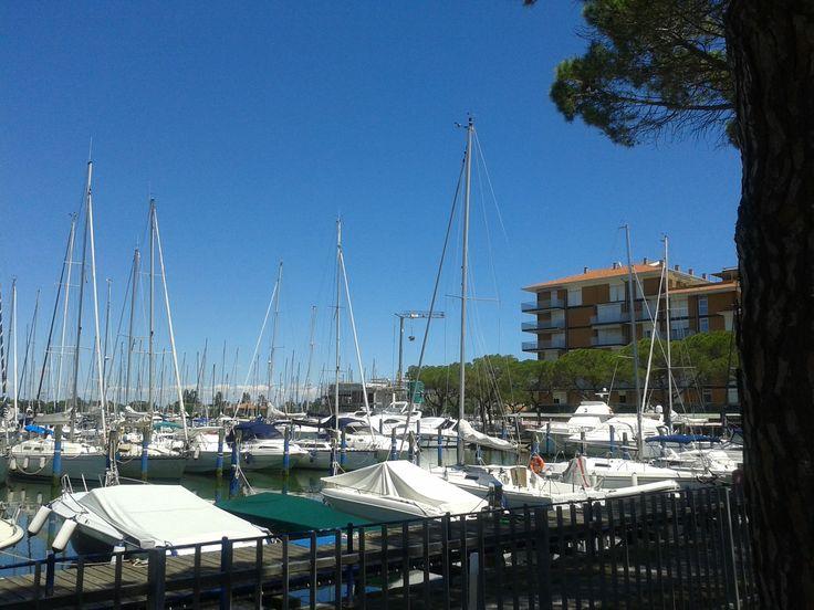 The beautiful naval port of #Porto Santa Margherita.