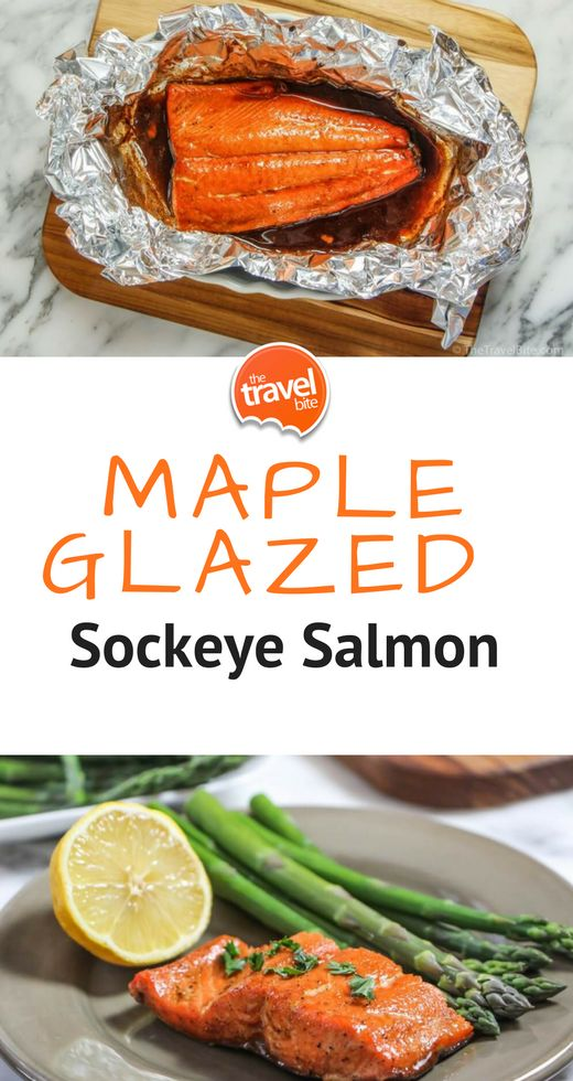 Summertime is sockeye salmon season, and this Maple Glazed Salmon recipe is one of my favorite dinners to make at home.