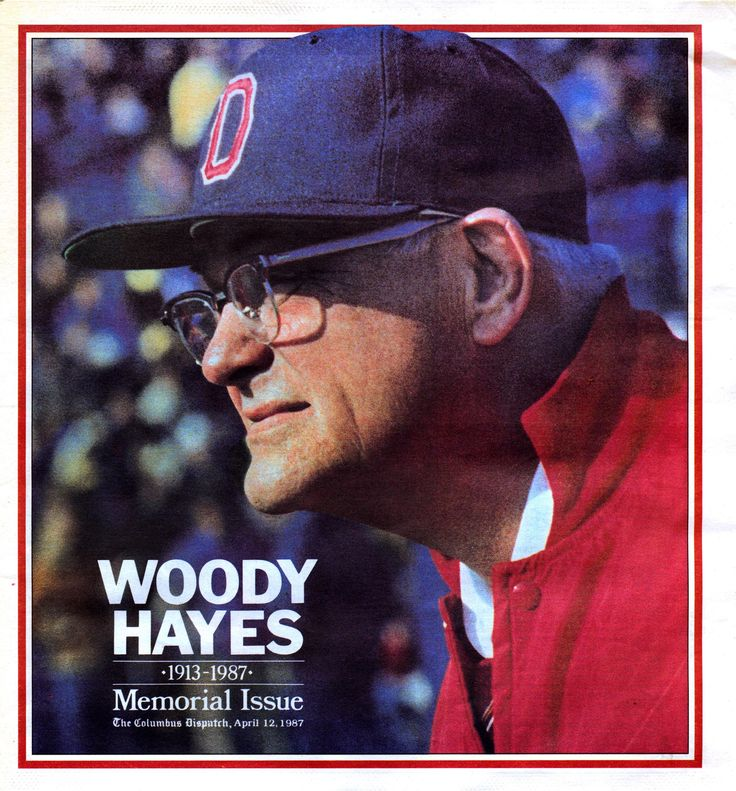 Legendary Ohio State football coach Woody Hayes died 30 years ago today.