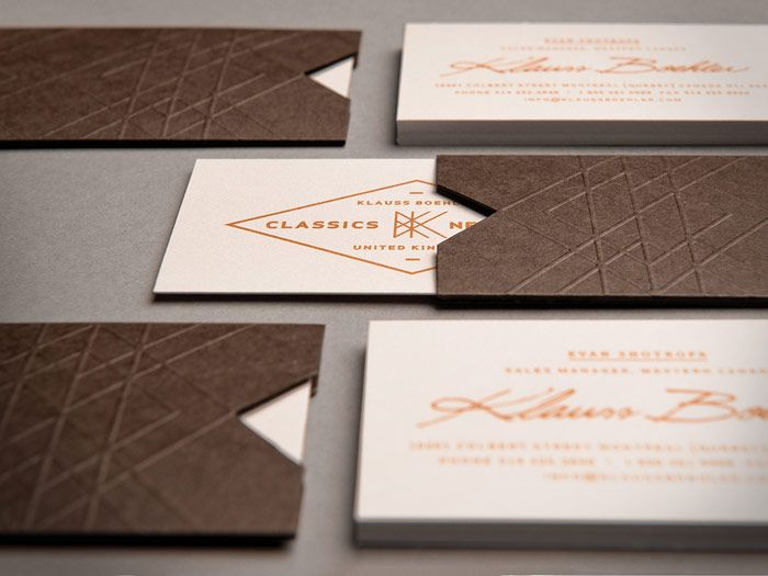 167 best business cards images on pinterest carte de visite lovely identity project for klauss boheler a top of the line mens shirt brand designed by the new klauss boehler branding draws colourmoves