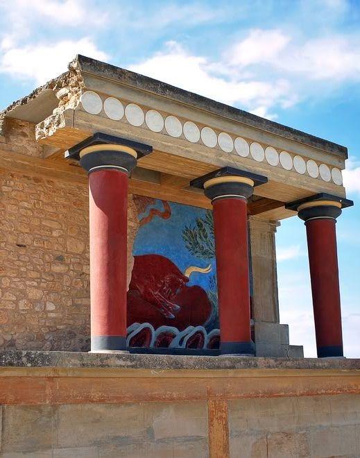 Knossos ( Bronze Age ), Crete Island