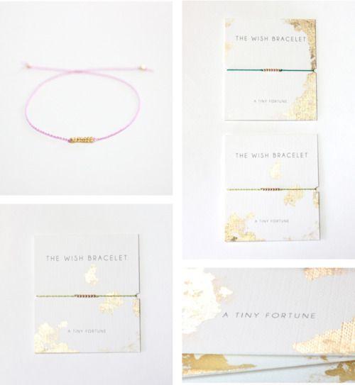 Ayofemi Jewelry Wish Bracelets Packaging