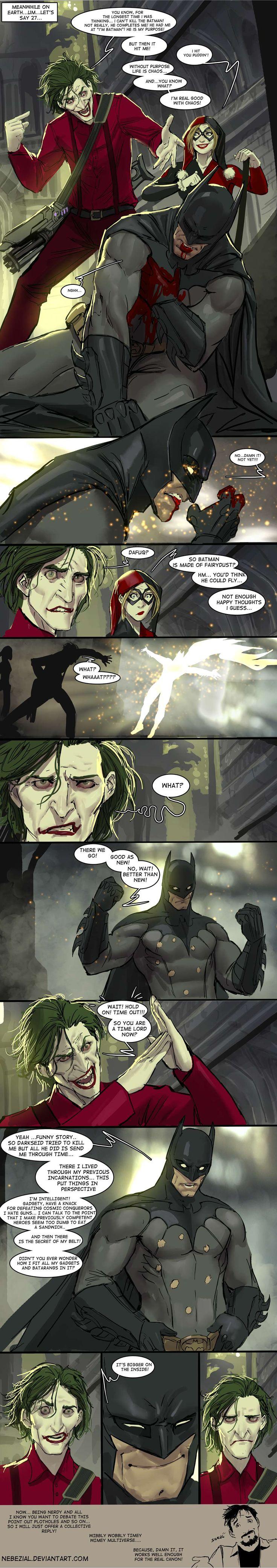 Batman Turns Out To Be A Time Lord In This Hilarious Comic — GeekTyrant