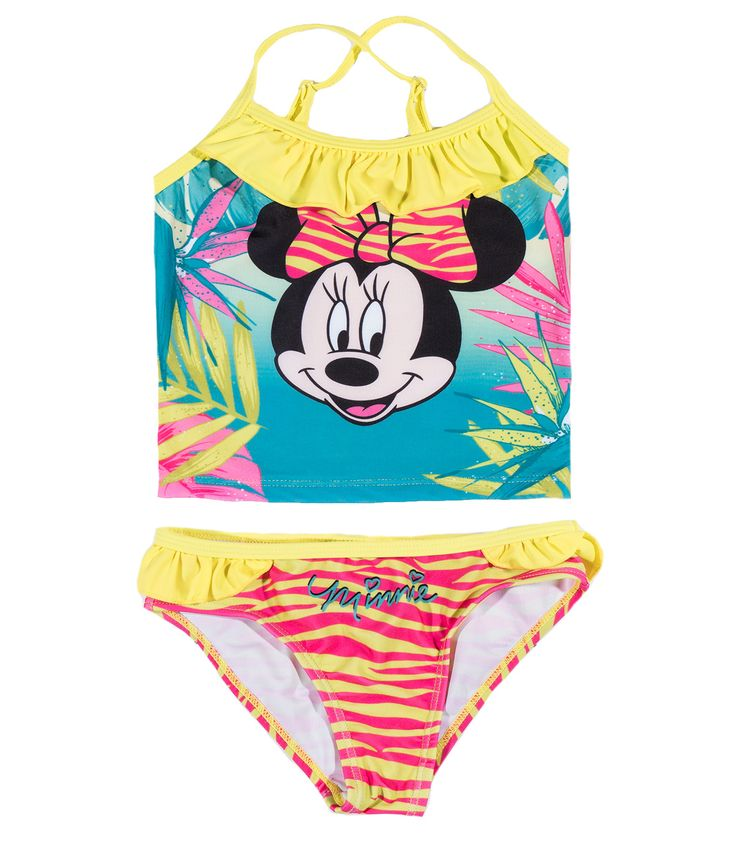 Disney Minnie Bikini #Kinderbekleidung #Mode #Mädchen #Bademode #Girls #Disney #MinnieMouse #Bikini #Tankini