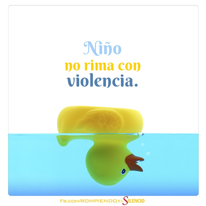 Rompiendo el Silencio - Denuncia el maltrato Infantil.  Haz clic en http://adv.st/denuncialo y ayuda.  La denuncia es anónima.