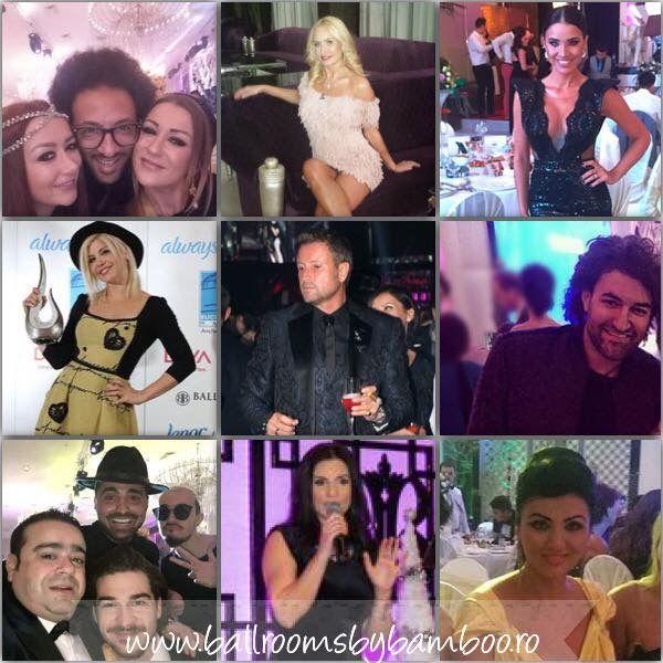 Vedetele aleg…Ballrooms by Bamboo! Cele din imagini sunt doar cateva dintre starurile care ne-au pasit pragul! Indiferent ca au fost prezente la un eveniment privat, de tip nunta sau botez, ori au luat parte la orice alt tip de party, gala sau lansare de produs, nenumarate persoane publice s-au aratat incantate de locatiile noastre ! Contact: 0724322189 www.Ballroomsbybamboo.ro