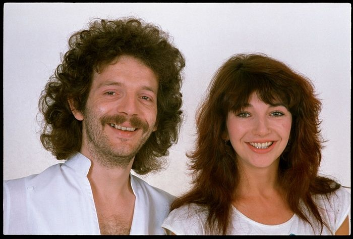 Kate Bush and brother Paddy , photo by John Carder Bush