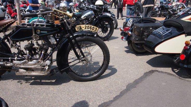 Motorrad-Gespanne, Beiwagen, Seitenwagen, Oldtimer