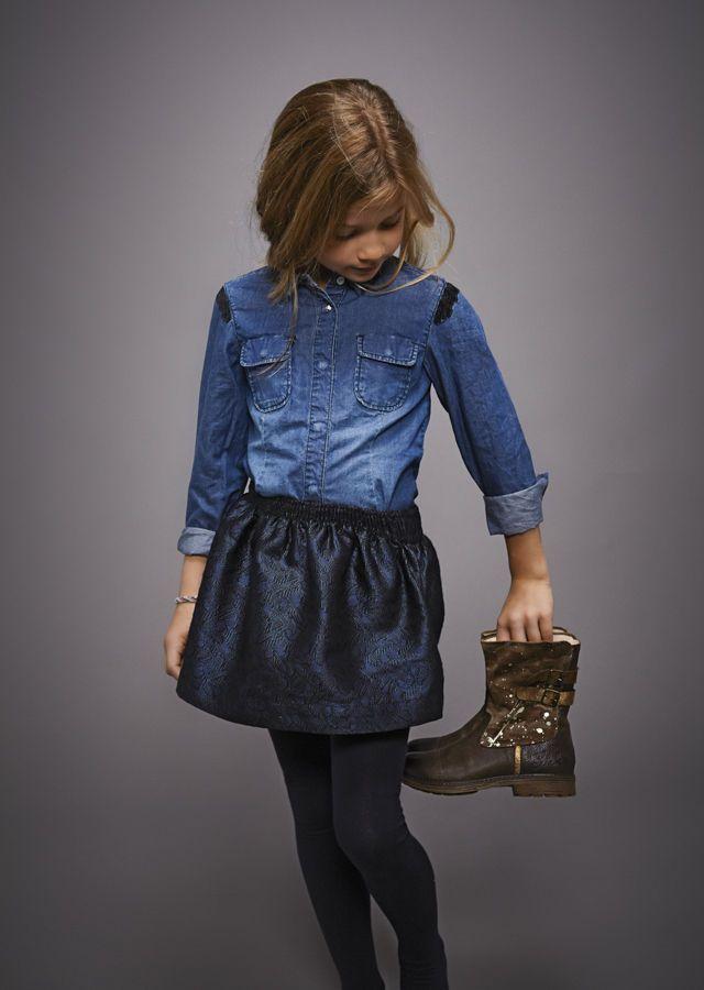 Mode enfant IKKS | Looks Hiver 2014 | Vêtements fille