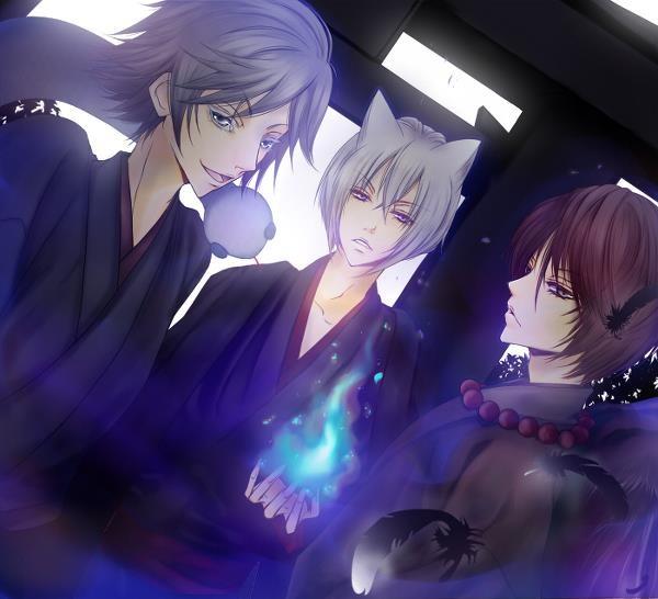 Los chicos de Kamisama Hajimemashita