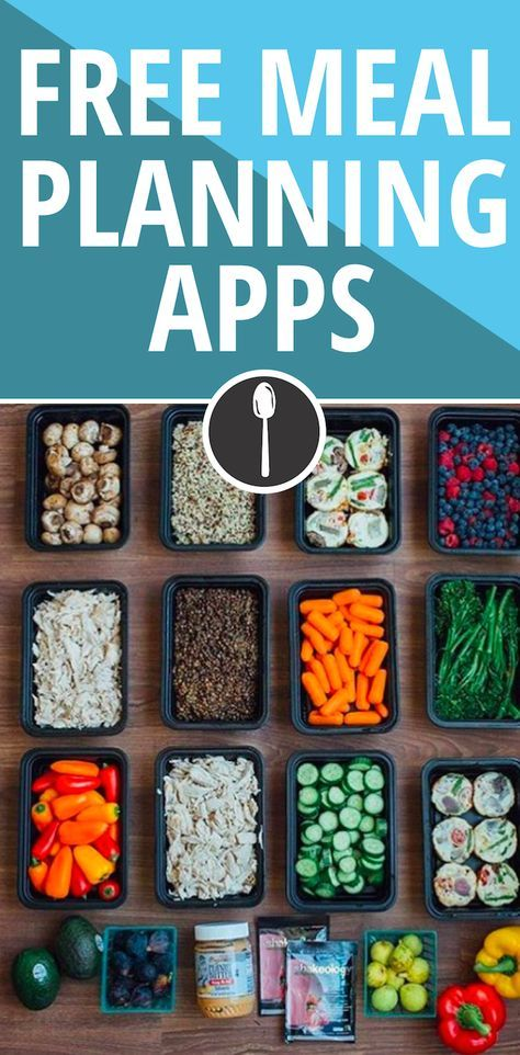 Cool  Free Meal Planning Apps That Make Your Sunday Meal Prep Easy AF