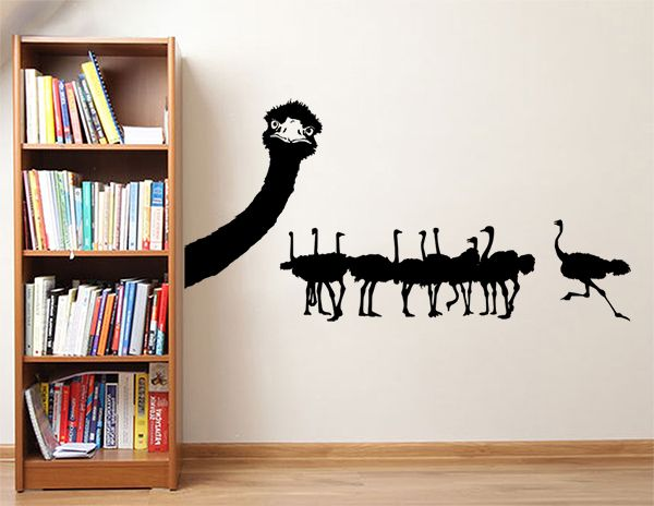 • Size: 90cm(high) x 100cm(wide) if applied to wall as the picture  Things to Note: - We will provide full instructions and a free trial decal with the order - Our decal may come in separate parts making it easier to apply to wall - All Sizes are approximate and can vary slightly from the listed size above - Your order will be posted within 1-3 working day after payment has cleared
