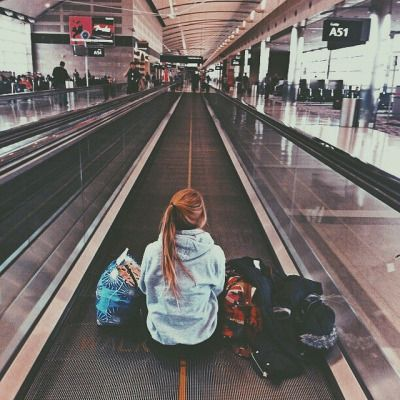 how i feel every time i'm in the airport alone