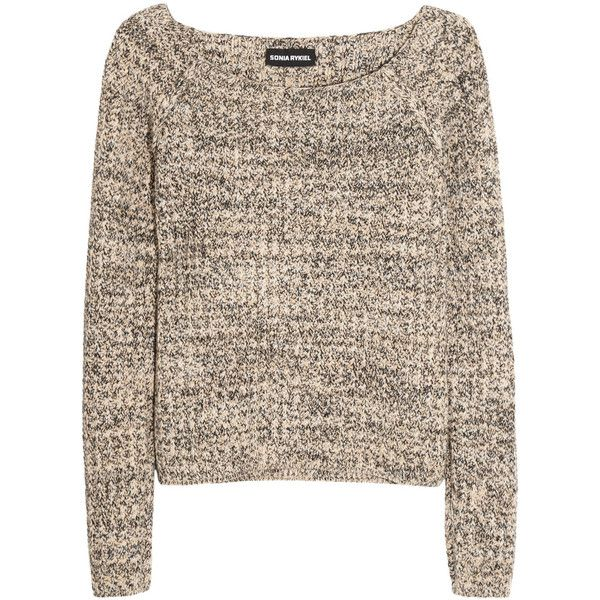 Sonia Rykiel Wool and cashmere-blend sweater found on Polyvore