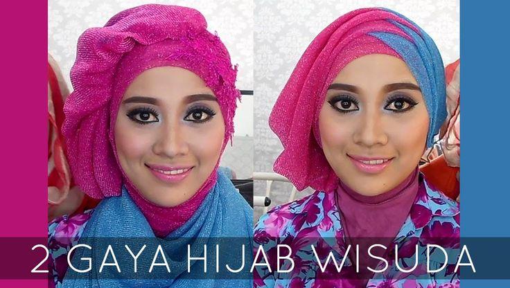 Tutorial Hijab Wisuda   2 Hijabstyle dengan Hijab Savanna Mecca Glitty   #2