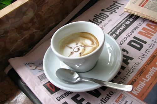 """How to Order the Best Types of Coffee-   Italian Espresso contains almost no calories at all. Of course, the more milk and sugar you add, the more of an indulgence it is. To keep the calories in check, """"shoot for nonfat or low-fat milk.  Macchiato, which is an espresso with just a dollop of foam on top."""