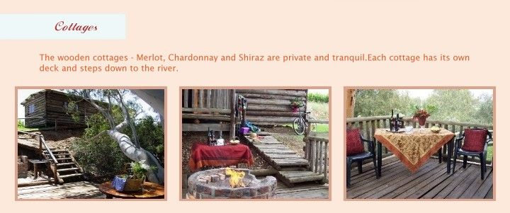 Bonnievale Bordeaux River Cottages
