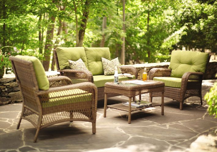 patio furniture in living room outdoor living room martha stewart patio furniture 21100