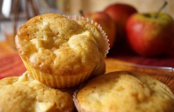 Νηστίσιμα μάφινς (muffins) μήλου