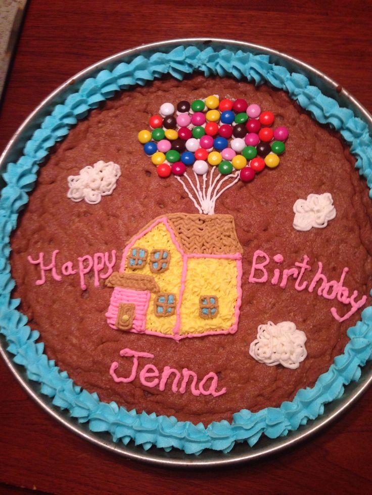Fancy Christmas Birthday Cake