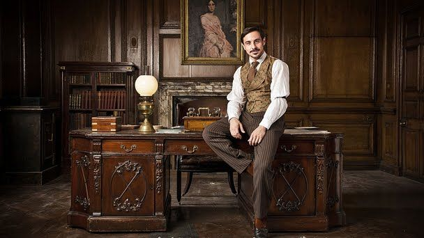 Scottish Actors: Emun Elliott: 'The Paradise'