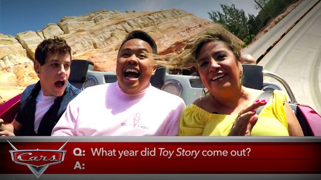 Radiator Springs Racers with Cars 3's Cristela Alonzo