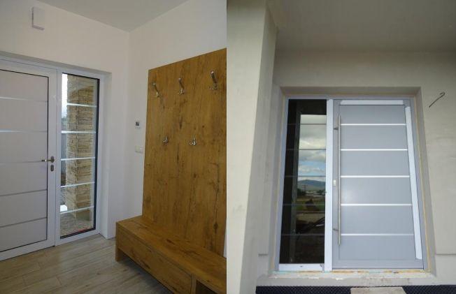 Vchodové dvere s HPL dvernou výplňou GAVA 902