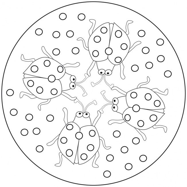 27 best mandalas para ni os images on pinterest mandalas for kids coloring book and coloring - Mandalas colorear ninos ...