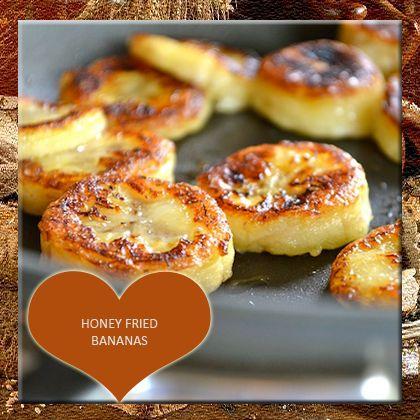 Honey Fried Bananas Recipe from Mamma's Recipes