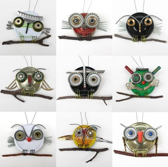 Saucepan Lid Owls Are An Easy DIY You'll Love | The WHOot