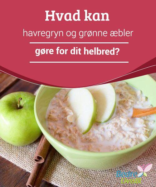 Hvad kan havregryn og grønne æbler gøre for dit helbred?  En smoothie lavet af havregryn og grønt æble - har du #nogensinde prøvet det? Mange læger og #ernæringseksperter anbefaler denne enkle drik til at hjælpe dig #passe på dit helbred og tabe dig. De har utallige fordele, så i dag vil vi tale om disse #ingrediensers fantastiske egenskaber.