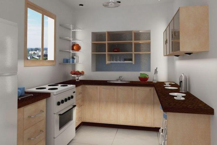 interior dapur mungil minimalis-Interior Dapur Mungil