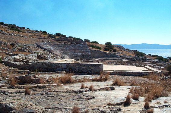 Thorikos: theatre, washery and Velatouri hill