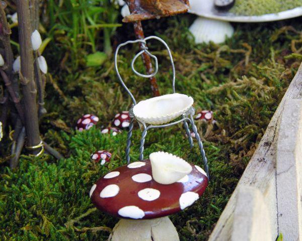 Fairy Garden Furniture How To Make 63 best fairy furniture images on pinterest | fairies garden