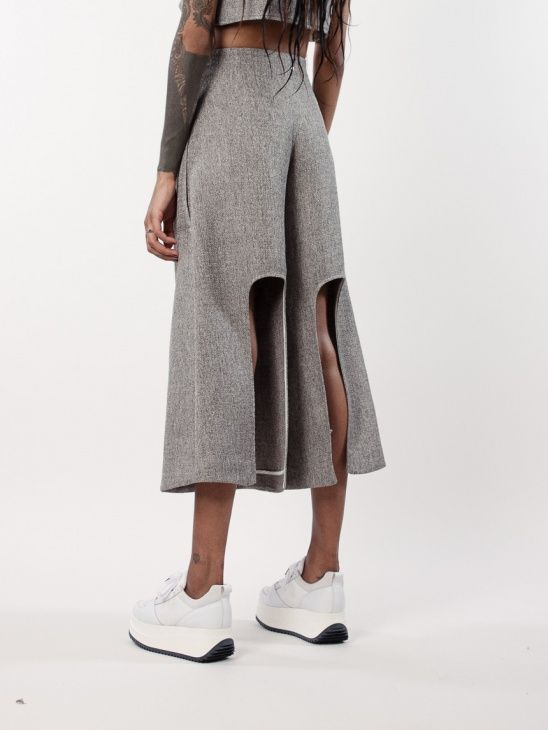 BACK Abstract Culottes