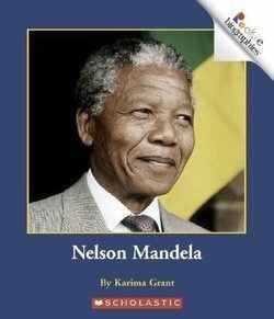 NELSON MANDELA biography at the 2nd Grade Reading level.  (Rookie Biographies) from Scholastic.  4.50 Stars from only 2 GoodReaders.