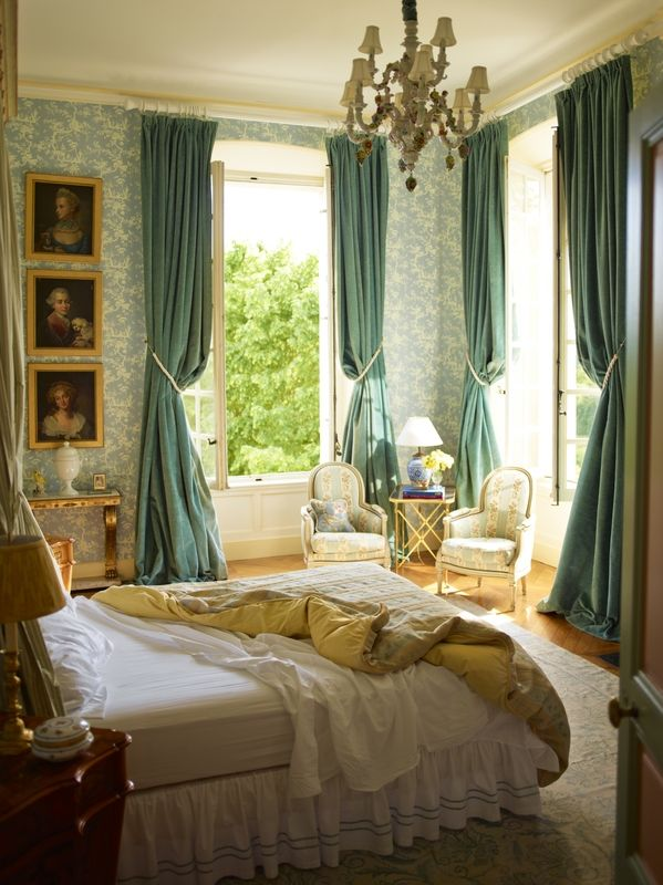 Timothy Corrigan's Restored 18th-Century French Chateau du Grand-Luc Can Be…