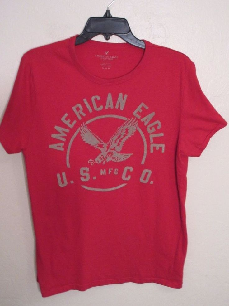 SALE Americn Eagle Outfiters T Shirt Medium Red #AmericanEagleOutfitters #GraphicTee