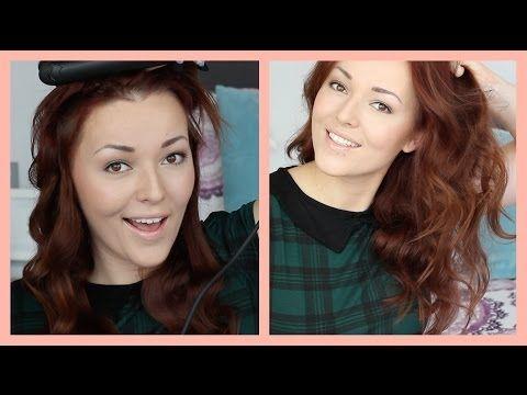 Haar krullen met een stijltang – rol trucje : Mascha's Beautyblog – Beautygloss.nl