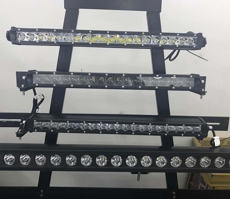 Single row offroad LED light bar . www.trutecled.com .  #singlerowledbar #offroadled #ledlightbar #autoledlights #automtive