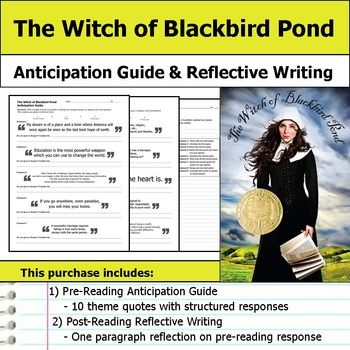 The Witch of Blackbird Pond Essay Topics & Writing Assignments