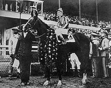Paul Jones | Winner of the 46th Kentucky Derby | 1920 | Jockey: T. Rice | 17-Horse Field | $30,375 prize