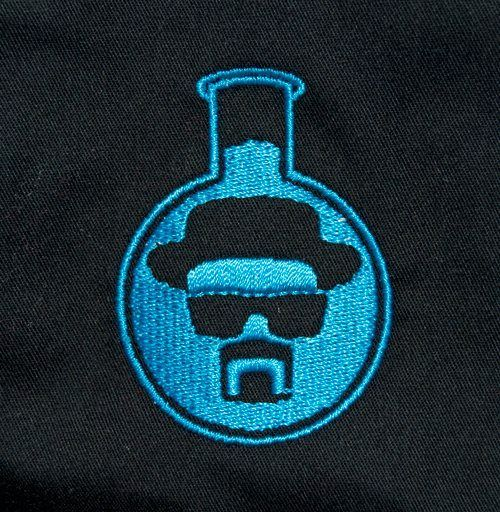 SO getting this sowed on a ball cap! for all the DIE HARD BREAKING BAD FANS!