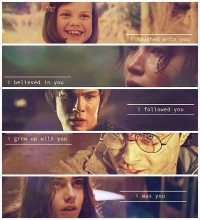 Narnia, Hunger Games, Percy Jackson, Harry Potter & Mortal Instruments!! :D