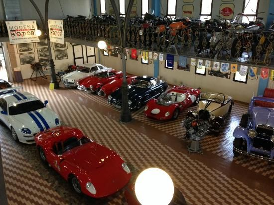 **Panini Motor Museum (lesser known car museum and cheese facory) - Modena