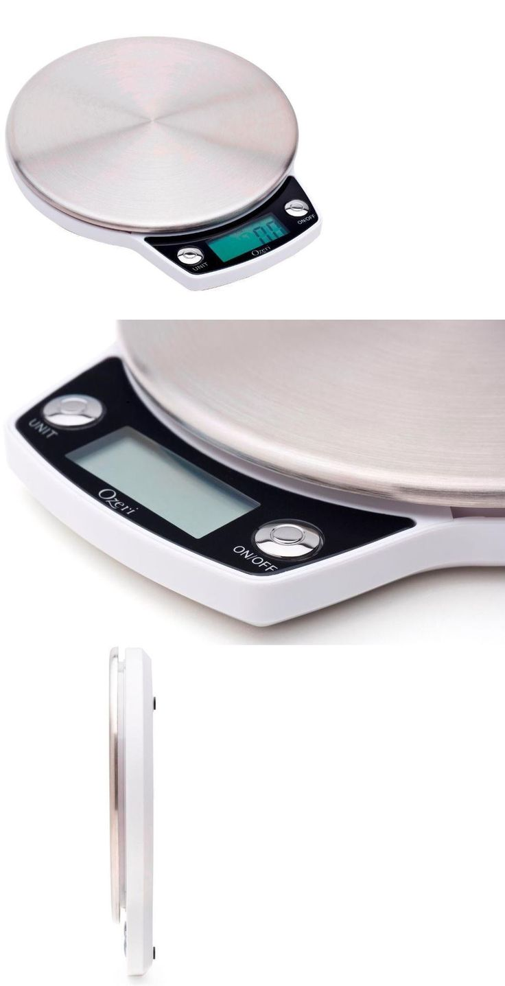 Kitchen Scales 50419: Precision Pro Stainless Steel 12 Lbs. Lcd Digital Kitchen Food Weighing Scale -> BUY IT NOW ONLY: $33.99 on eBay!