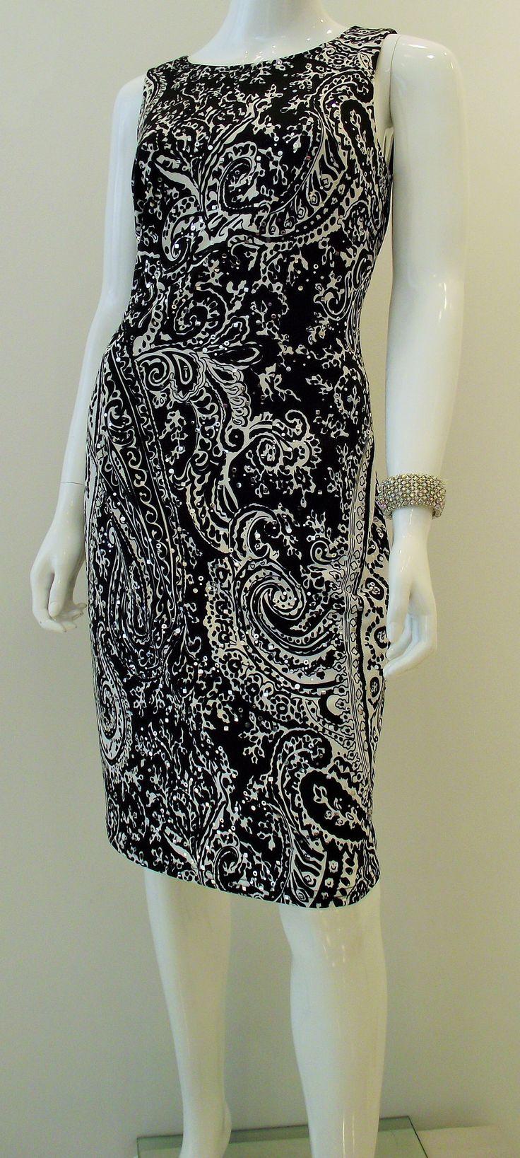 little black dress with a fun paisley twist! #classicboutique #eastgwillimbury #pickeringtowncenter #classic #Summerlovin