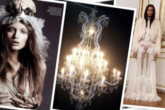 Wedding Theme Inspiration: Gothic Goodness (A guest post by Stylexicon) http://www.thelane.com/the-guide/themes/gothic-goddess
